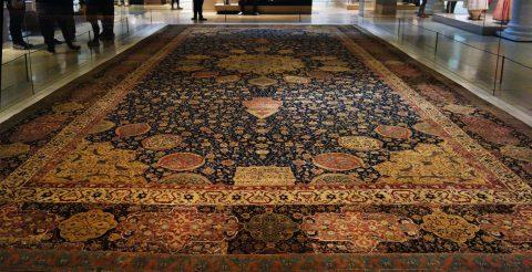 فرشی در موزه ویکتوریا و آلبرت لندن