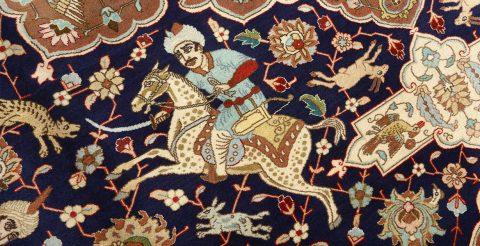 زیبایی فرش دستباف در دکوراسیون داخلی