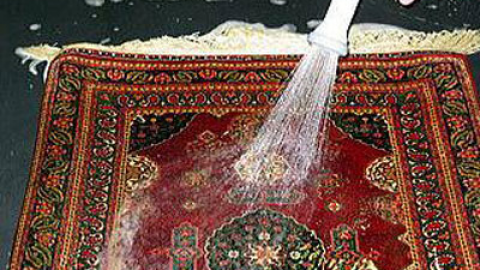 شستشو و تمیز کردن فرش دستباف